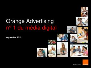 Orange Advertising n° 1 du média digital