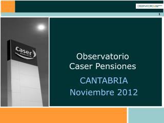 CANTABRIA Noviembre 2012