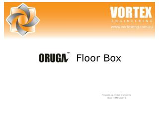 Prepared by: Vortex Engineering Date:  9.March.2012