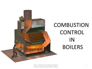 COMBUSTION   CONTROL  IN  BOILERS