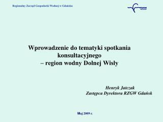 Regionalny Zarząd Gospodarki Wodnej w Gdańsku