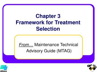 Chapter 3 Framework for Treatment Selection