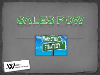 Sales POW
