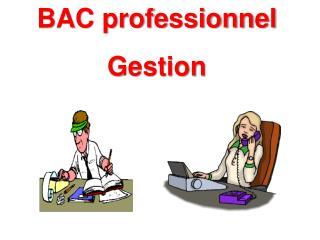 BAC professionnel  Gestion