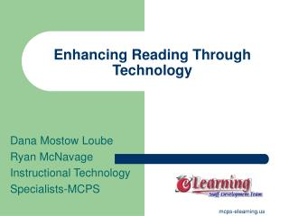 Enhancing Reading Through Technology