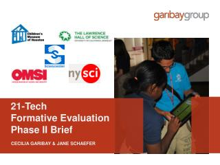 21-Tech  Formative Evaluation  Phase II Brief
