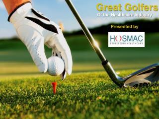 Great Golfers