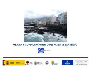 MEJORA Y CONDICIONAMIENTO DEL PASEO DE SAN TELMO