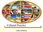 Cultural Puzzles