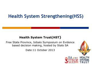 Health System Strengthening(HSS)