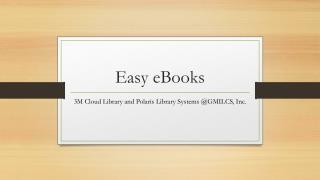 Easy eBooks