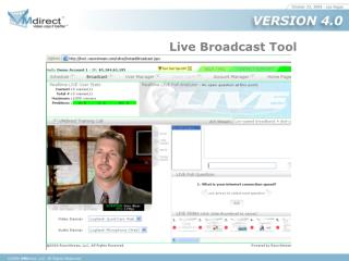 FirstStream Live Broadcast Tool