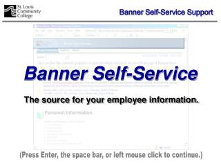 Banner Self-Service