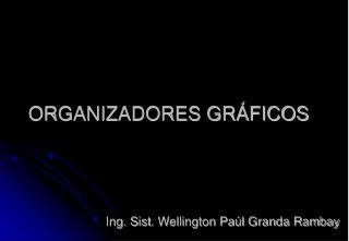 ORGANIZADORES GR�FICOS