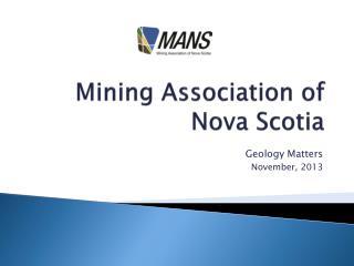 Mining Association of Nova Scotia