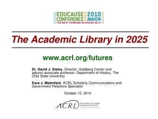 The Academic Library in 2025