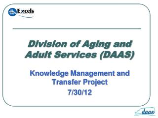 Division of Aging and Adult Services (DAAS)
