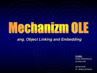 Mechanizm OLE