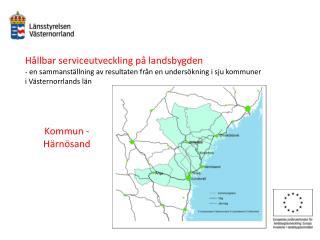 Hållbar serviceutveckling på landsbygden