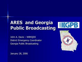 ARES  and Georgia Public Broadcasting