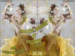 CREATIVE  ARTWORK BY BRUSHSHA