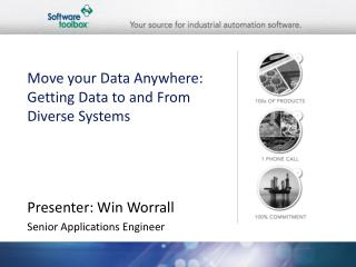 Move your Data Anywhere: Getting Data to and From Diverse Systems