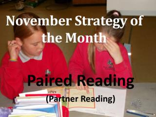 November Strategy of the Month