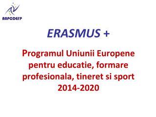 Noul program  2014-2020