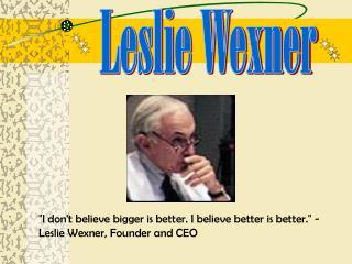 Leslie Wexner