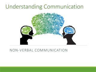 Understanding  Communication