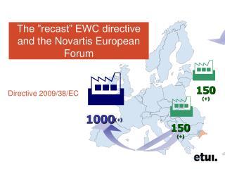 """The """"recast"""" EWC directive and the Novartis European Forum"""