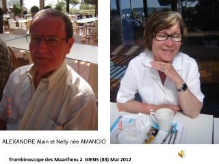Trombinoscope des Maarifiens à  GIENS (83) Mai 2012