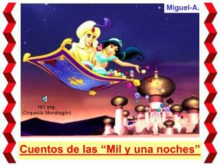 """Cuentos de las """"Mil y una noches"""""""
