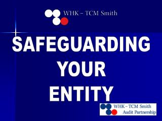 SAFEGUARDING  YOUR  ENTITY