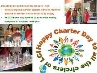 Happy Charter Day to all the circlers of LCI