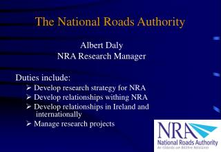 The National Roads Authority