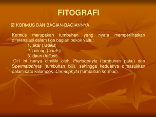 FITOGRAFI
