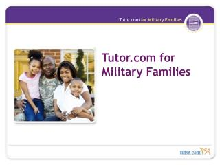 Tutor for Military Families