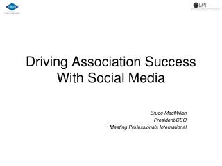 Driving Association Success With Social Media