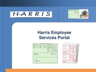Harris Employee  Services Portal