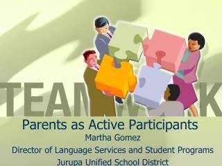 Parents as Active Participants