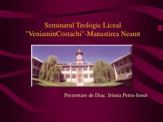 Seminarul  Teologic Liceal