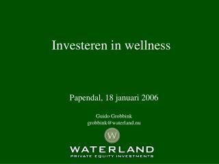 Investeren in wellness