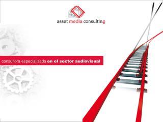 consultora especializada en el sector audiovisual
