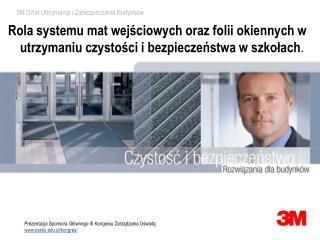 Prezentacja Sponsora Głównego III Kongresu Zarządzania Oświatą  oskko.pl /kongres/