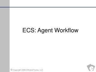 ECS: Agent Workflow