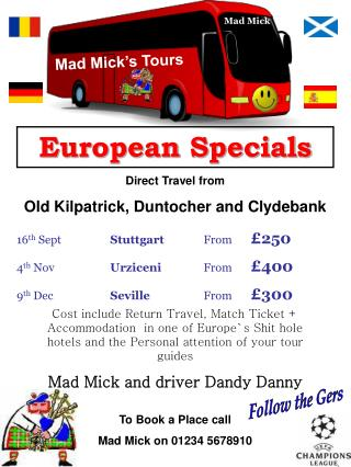Mad Mick's Tours