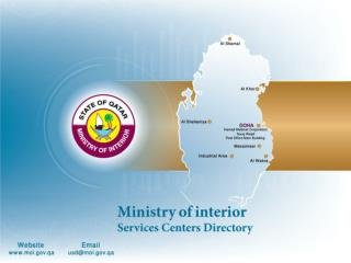 MOI Services Centers Directory 2010