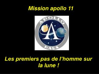 Mission apollo 11