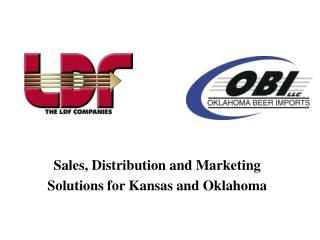 Sales, Distribution and Marketing  Solutions for Kansas and Oklahoma